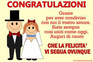 Frasi Matrimonio Le Piu Belle Frasi Di Auguri Per Il Matrimonio