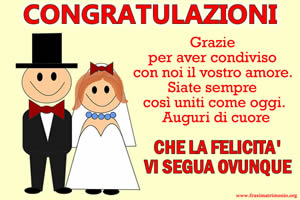 Frasi Auguri Per Matrimonio Nipote.Frasi Matrimonio Le Piu Belle Frasi Di Auguri Per Il Matrimonio