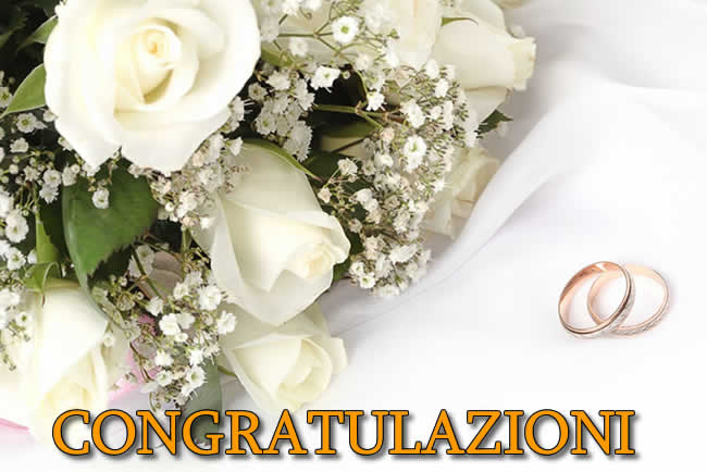 Auguri Per Un Matrimonio Immagini : Frasi matrimonio biglietti congratulazioni