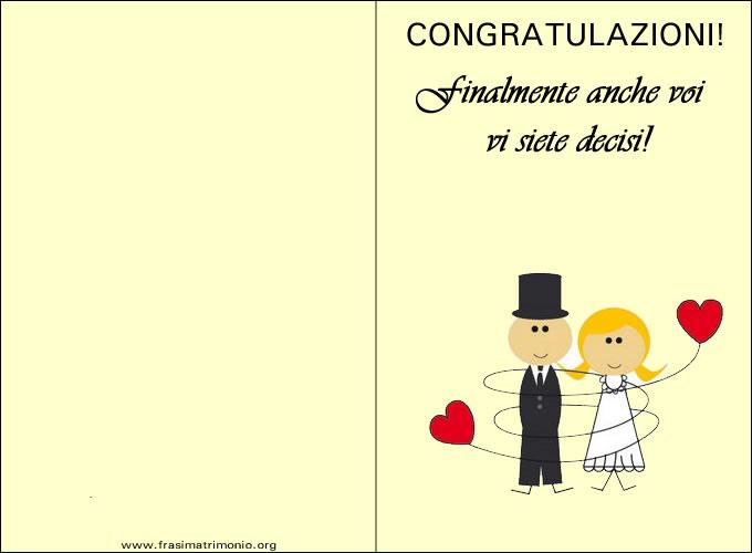Biglietti Auguri Matrimonio Originali : Biglietto matrimonio i migliori biglietti di