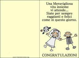 frasi simpatiche x matrimonio