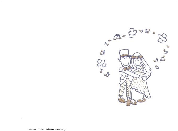Favorito Matrimonio Blog: auguri matrimonio da stampare UC94