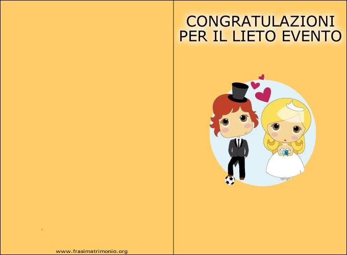 Biglietti Auguri Matrimonio Originali : Frasi auguri matrimonio tante di
