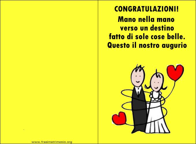 Frasi Auguri Matrimonio Simpatiche : Nice biglietti auguri matrimonio simpatici da stampare