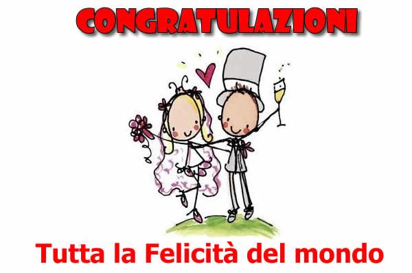 Molto Immagini Congratulazioni Auguri Matrimonio: Congratulazioni Auguri  EC99
