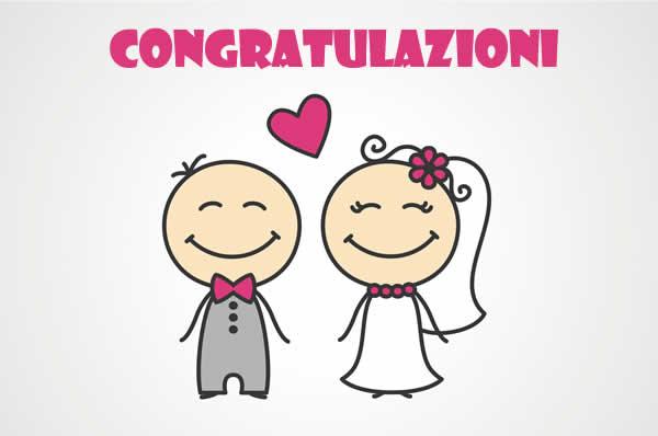Matrimonio Auguri O Congratulazioni : Congratulazioni per matrimonio bel biglietto