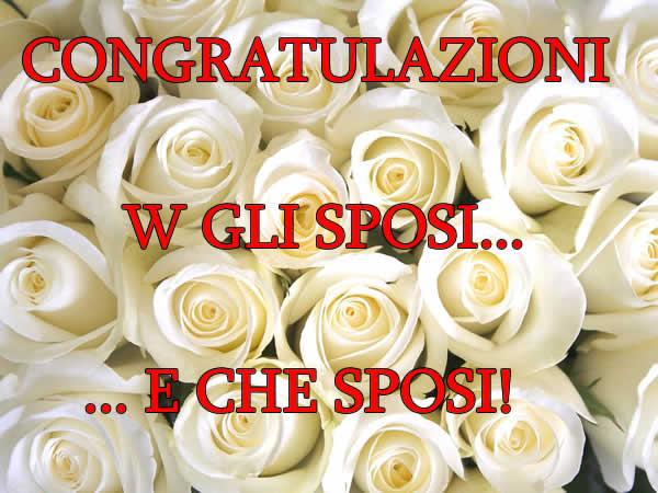 Auguri E Felicitazioni Per Matrimonio : Immagini matrimonio immagine w gli sposi